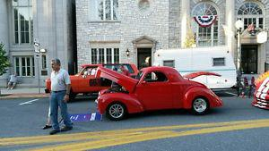 Willys Coupe V8 Street Rod HotRod Custom Classic