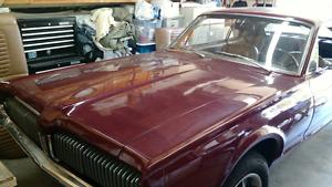 Mercury Cougar 4 speed 289 engine Rare low vin number