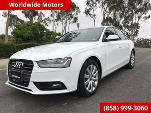 Audi A4 2.0T Premium Plus For Sale In San Diego |