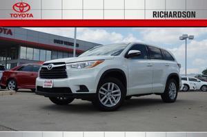 Toyota Highlander LE For Sale In Richardson | Cars.com