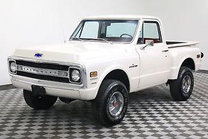 Chevrolet PICKUP SHORTBOX STEPSIDE BIG BLOCK AUTO PEARL