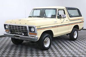 Ford Bronco COLLECTOR GRADE BARN FIND ORIGINAL PAINT