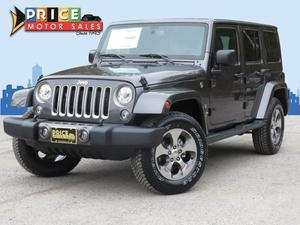 Jeep Wrangler Unlimited - Unlimited Sahara