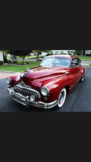 Buick Super 2 Door Sedanette Fastback