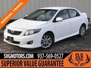 Toyota Corolla S For Sale In Dayton | Cars.com