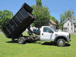 Ford F-X4 XL W/ 12 FT DUMP BOX DIESEL 4X4