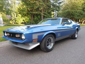 Ford Mustang Mach 1 SCJ Fastback