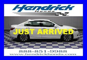 Honda Accord Hybrid Base For Sale In Charlotte |