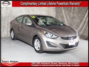 Hyundai Elantra SE For Sale In Nashua | Cars.com