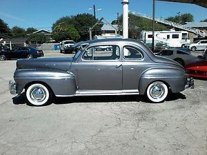 Mercury Eight coupe flat head v8
