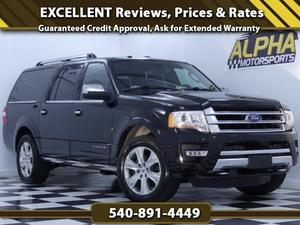 Ford Expedition EL Platinum For Sale In Fredericksburg