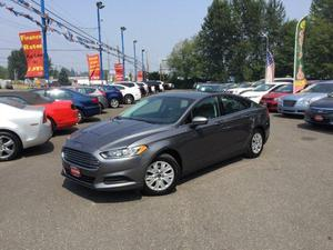 Ford Fusion S For Sale In Everett | Cars.com