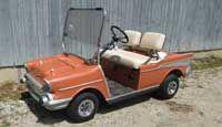 Chevrolet Convertible Golf Cart