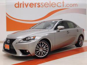 Lexus IS 250 W/SUNROOF For Sale In Dallas | Cars.com