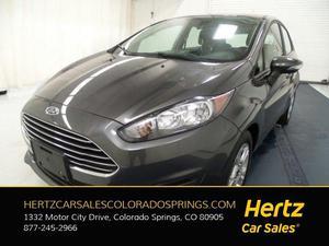 Ford Fiesta SE For Sale In Colorado Springs | Cars.com