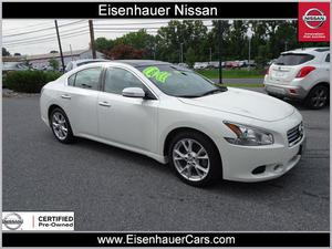 Nissan Maxima SV For Sale In Wernersville | Cars.com