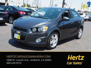 Chevrolet Sonic LTZ For Sale In Anaheim | Cars.com
