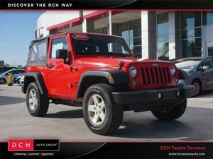 Jeep Wrangler Sport For Sale In Torrance | Cars.com