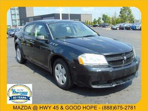 Dodge Avenger SE For Sale In Milwaukee | Cars.com