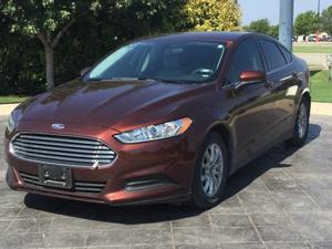 Ford Fusion S For Sale In Abilene | Cars.com