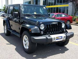 Jeep Wrangler Unlimited Unlimited Sahara For Sale In