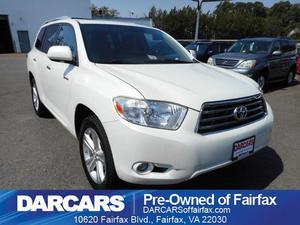 Toyota Highlander Limited For Sale In Fairfax  