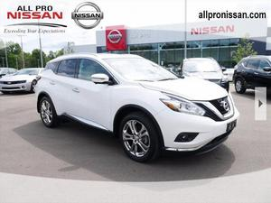 Nissan Murano Platinum For Sale In Dearborn | Cars.com