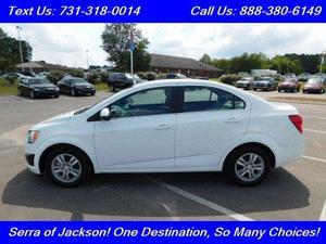 Chevrolet Sonic LT For Sale In Jackson | Cars.com