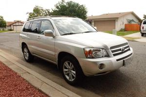 Toyota Highlander Hybrid For Sale In Escondido |