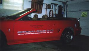Ford Mustang GT Indy 500 Pace Car Convertible