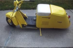 Cushman Stepthrough Scooter