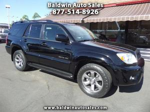 Toyota 4Runner Limited 4WD For Sale In Escondido |
