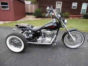 Harley 3 Wheeler Custom Chopper
