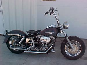 Harley Davidson FXE Motorcycle