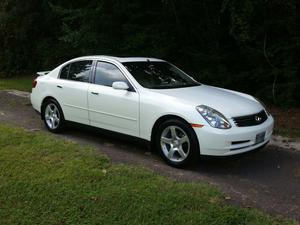 INFINITI G35 For Sale In Nacogdoches   Cars.com