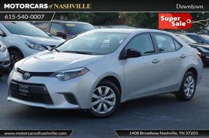 Toyota Corolla LE For Sale In Nashville | Cars.com