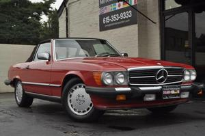1989 Mercedes 560sl For Sale Charlotte Cozot Cars