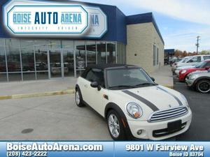 MINI Convertible Cooper For Sale In Boise | Cars.com