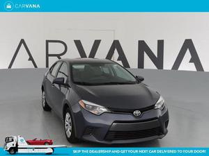 Toyota Corolla LE For Sale In Baltimore | Cars.com