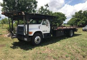 Ford F700 Wrecker Roll Back