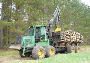 John Deere D Forwarder