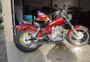 Honda Cmx250cc Rebel