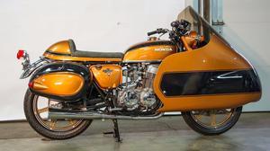 Honda CB750 Dustbin Bagger