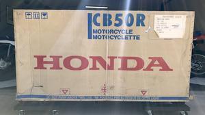 Honda Dream CB50R In Crate