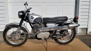Honda 305 Scrambler Dual Sport