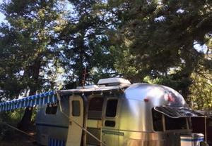 Vintage Airstream Sovereign