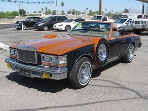 Cadillac Seville Custom Convertible