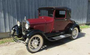 Ford Model A Rumble Seatsport Coupe