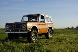Ford Bronco Restomod Fuel Injection
