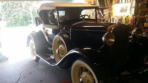 Ford Model A Roadster Convertible